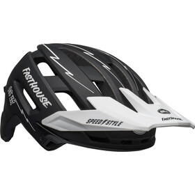 Bell Super Air MIPS Kask, matte black/white fasthouse